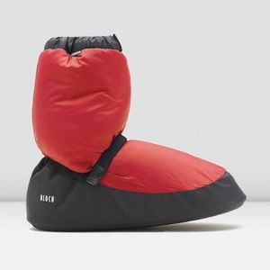 Shoes - Red Bloch warm up booties!❤️✨